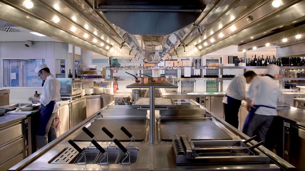 Kitchen renovation – Four Seasons Hotel, Milan