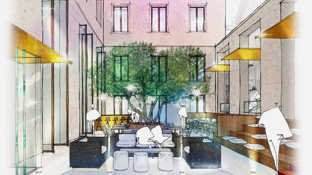 Life style boutique hotel in Rome via Veneto